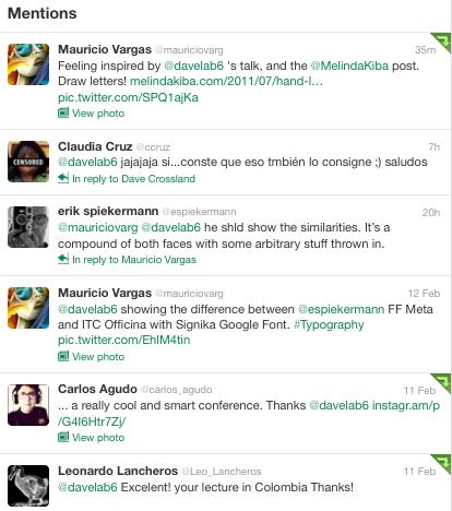 bogota tweets